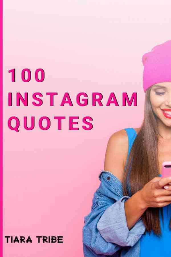 Get 100+ Instagram quotes