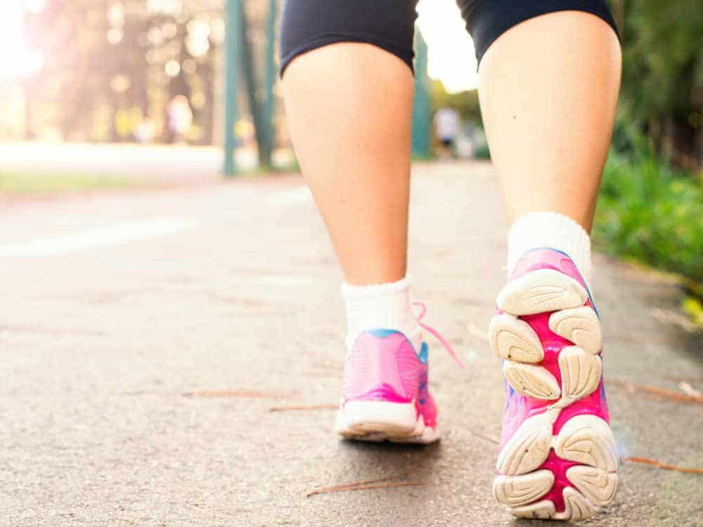Walking for weight loss & other benefits